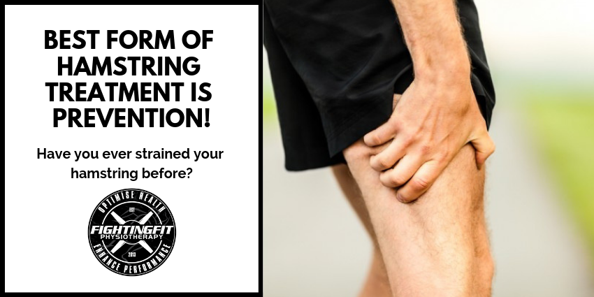 BEST FORM OF HAMSTRING TREATMENT IS PREVENTION