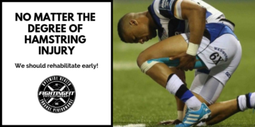 No matter the degree of hamstring injury, we should rehabilitate early!