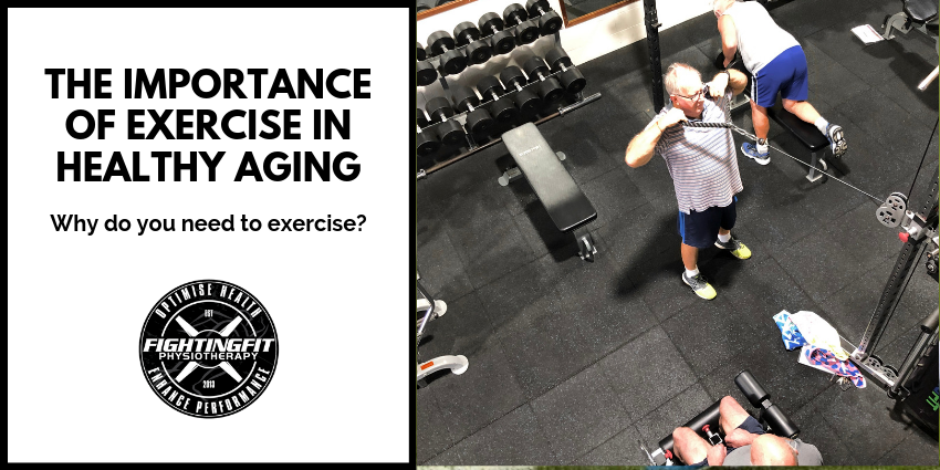 Blog on exercise and ageing