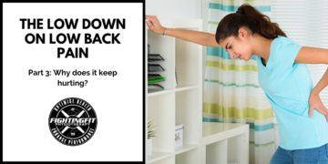 The Low Down on Low Back Pain: Part 3