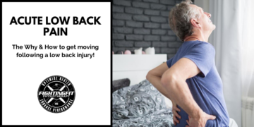 Acute Low Back Pain – How & Why to Get Moving Following Injury.